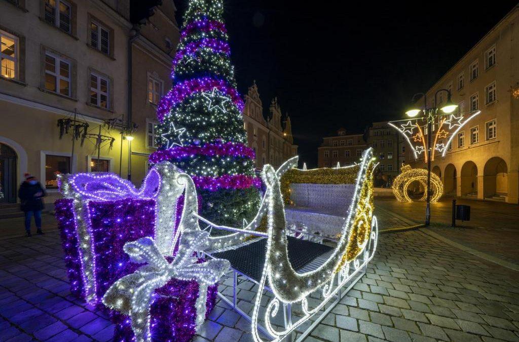 Świąteczne Opole z szansą na najpiękniej oświetlone miasto!