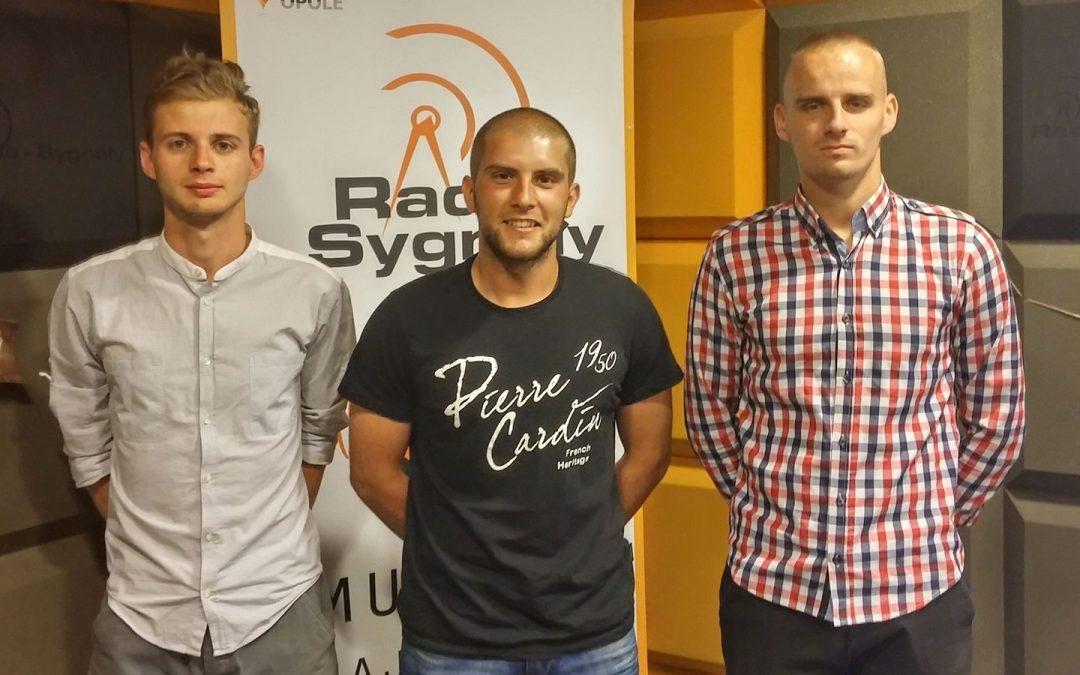 Sportowe Śniadanie – Damian Dobrzyński, Dawid Matyszczak, Mateusz Ptak