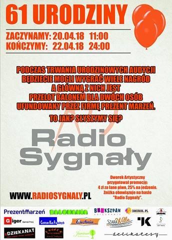 61 Urodziny Radio Sygnały startują już w ten weekend!