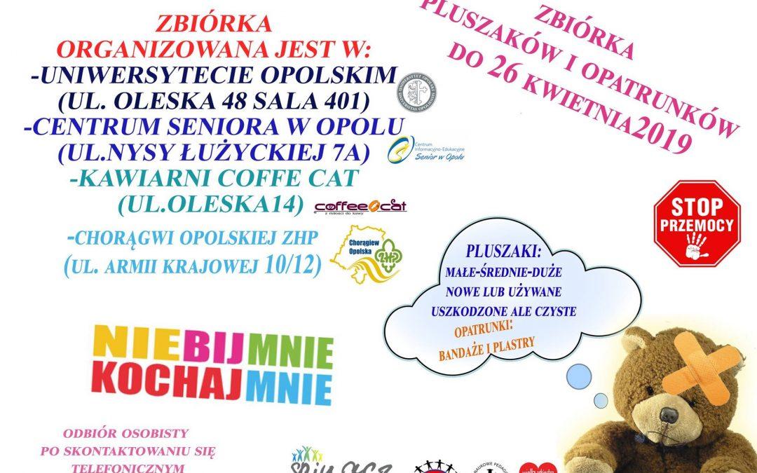 """Ruszyła druga edycja akcji """"Nie bij mnie, przytul mnie"""""""