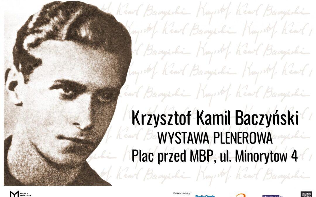 2021 rokiem Krzysztofa Kamila Baczyńskiego