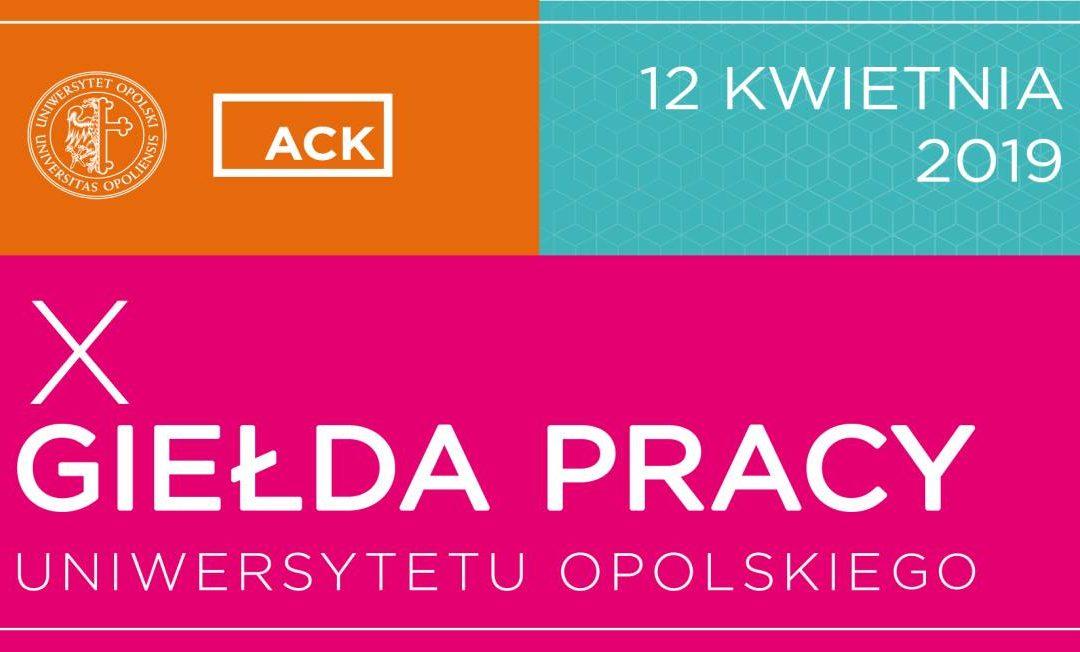 X Giełda Pracy Uniwersytetu Opolskiego