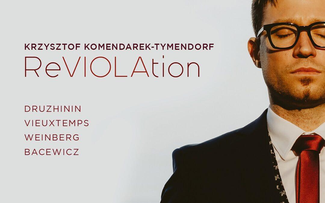 ReVIOLAtion – Krzysztofa Komendarka – Tymendorfa.