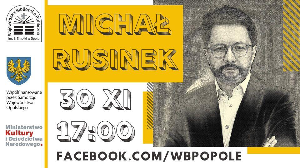 O polszczyźnie online – wirtualne spotkanie z Michałem Rusinkiem