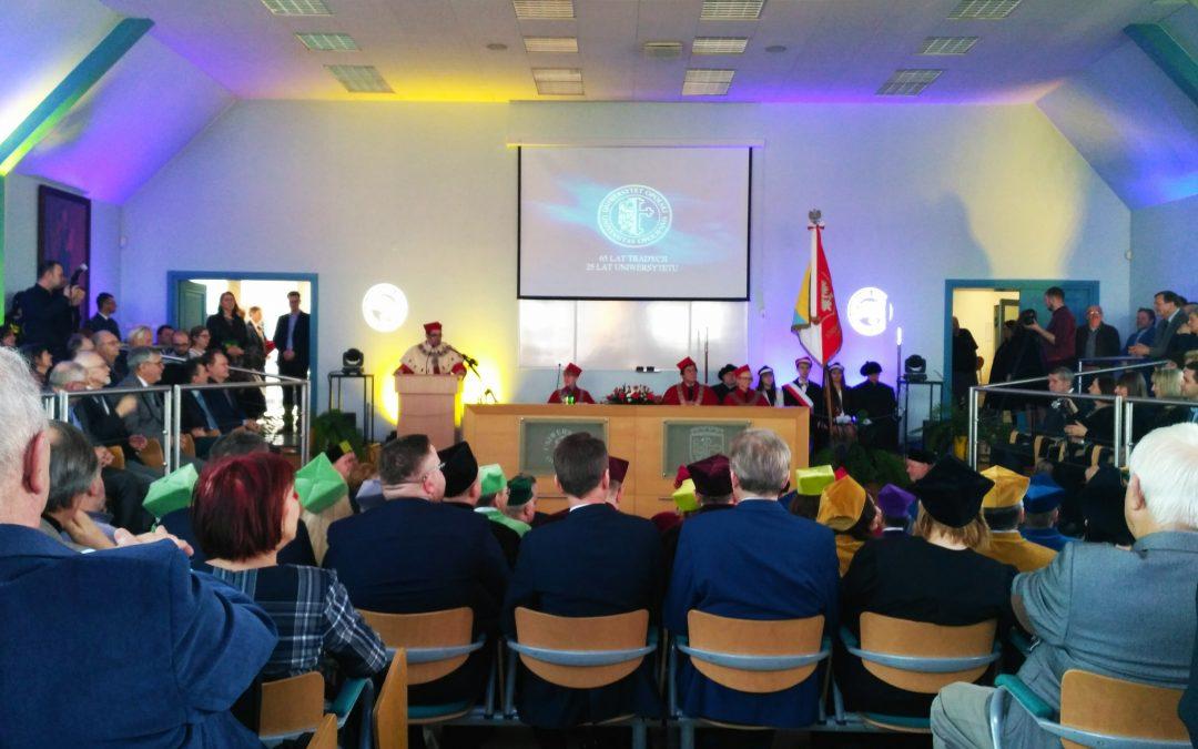 Święto Uniwersytetu Opolskiego – 65 lat tradycji, 25 lat uniwersytetu